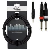 Alpha Audio Basic Line Y-kaapeli 1,5m
