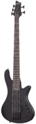 Schecter Stiletto Stealth-5 Satin Black sähköbasso
