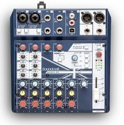 Soundcraft Notepad-8FX 8-kanavainen mikseri