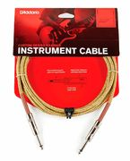 PLANET WAVES Braided Instrumenttikaapeli 6m, Tweed