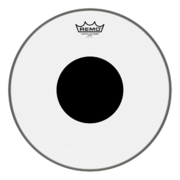 "Remo 18"" CS Clear Bass Black Dot"