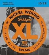 D'Addario EXL140 Light Top/Heavy Bottom (10-52)