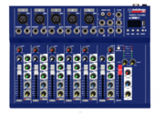 AudioDesign Pro PAMX.151.USB mikseri FX/BT/USB