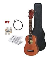 Tenson ukulele Player Pack, punaruskea