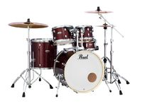 "Pearl DMP905/C713 Crimson Galaxy Flake Decade Maple 20"" rumpusetti"