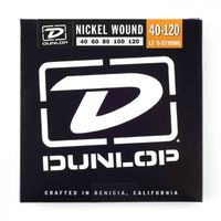 Dunlop Nickel Wound Bass 40-120