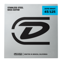 Dunlop Super Bright 45-125 Stainless Steel