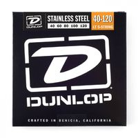 Dunlop Stainless Steel Bass 40-120