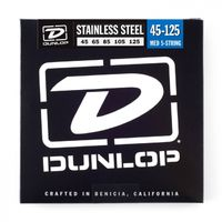 Dunlop Stainless Steel Bass 45-125
