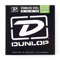 Dunlop Stainless Steel Bass 55-115