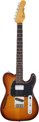 G&L Asat Classic Bluesboy Semi-hollow TOBS, maple