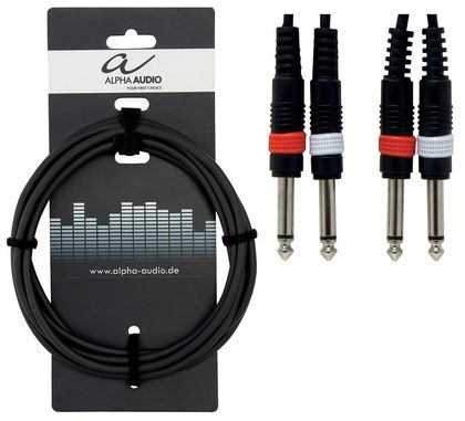 Alpha Audio Basic Line tuplakaapeli 1,5m