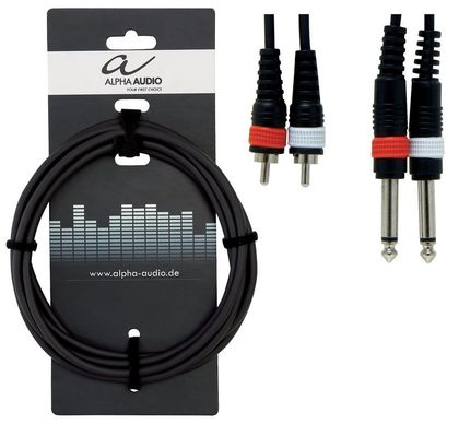 Alpha Audio Basic Line tuplakaapeli 6m