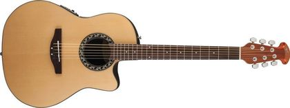 Ovation Applause Balladeer Mid Cutaway  Natural AB24-4