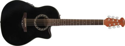 Ovation Applause  Balladeer Mid Cutaway Black AB24-5