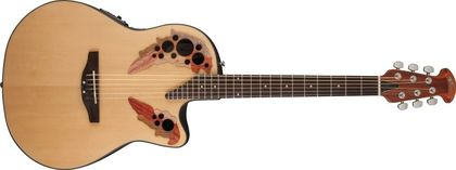Ovation Applause Elite Mid Cutaway Natural AE44-4