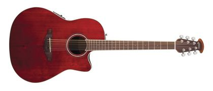 Ovation Celebrity Standard Mid Cutaway Ruby Red CS24-RR