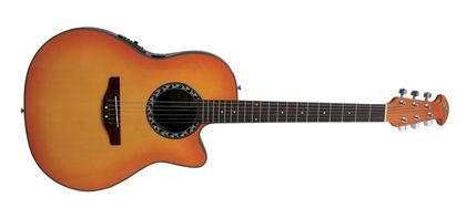 Ovation Applause Balladeer Mid Cutaway Honey Burst AB24-HB