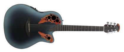 Ovation Celebrity Elite Mid Cutaway Reverse Blue Burst CE44-RBB