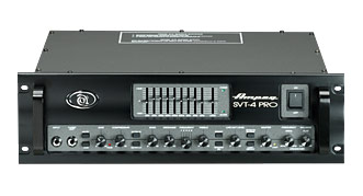 Ampeg SVT-4 Pro 1200W RMS, Tube Preamp, Stereo Power Amp