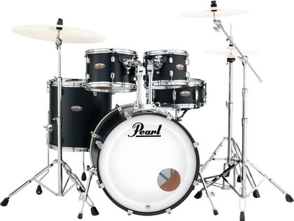 "Pearl DMP905/C227 Satin Black Decade Maple 20"" rumpusetti teline"
