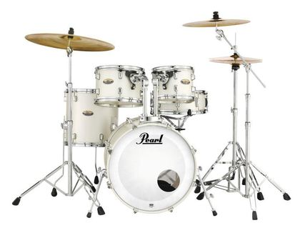 "Pearl DMP905/C229 White Satin Pearl Decade Maple 20"" rumpusetti"