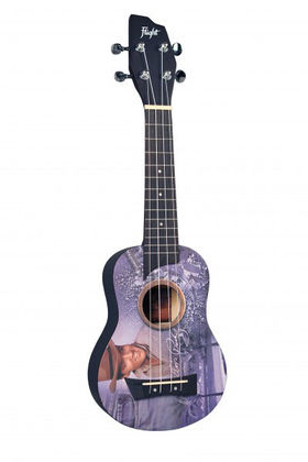Flight Elvis Presley Jeans Design ukulele + pussi
