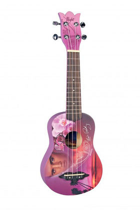 Flight Elvis Presley Romantic Design ukulele + pussi