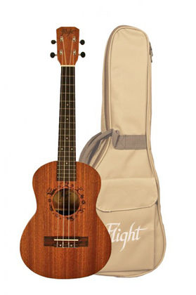 FLIGHT NUT310 TENORI UKULELE + PUSSI