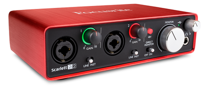 Focusrite Scarlett 2i2, 2nd generation