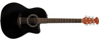 Ovation Applause Balladeer Mid Cutaway Black AB24A-5