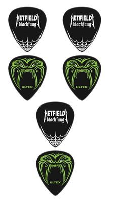 Dunlop James Hetfield Black Fang 0,73mm plektrat