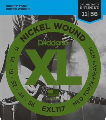 D'Addario EXL117 Medium Top/X-Heavy Bottom (11-56)