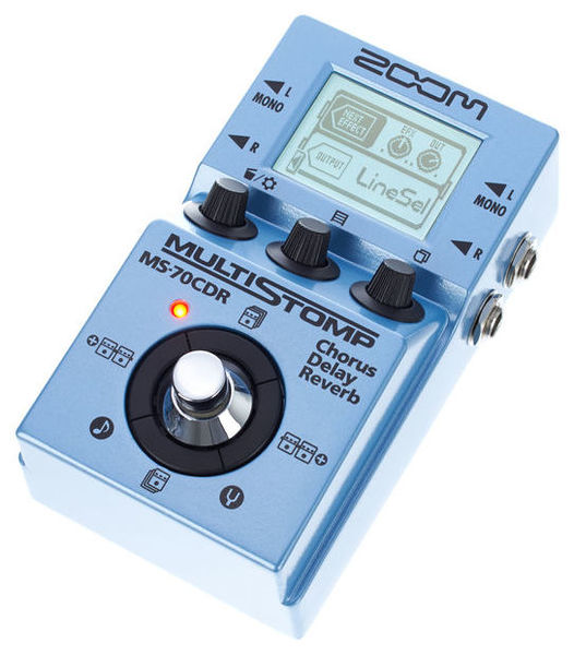 Zoom MS-70CDR Multi Stomp chorus/delay/reverb