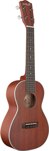 Stagg UC70-S consert ukulele + pussi