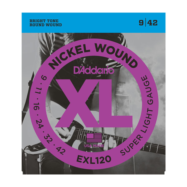 D'Addario EXL120 Super Light (9-42)