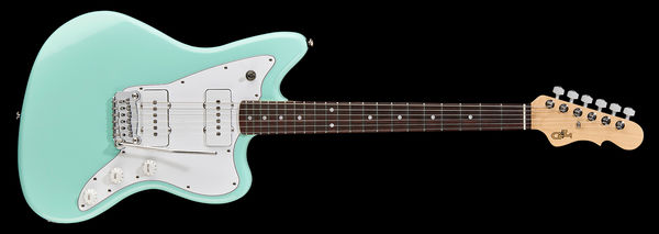 G&L Tribute Doheny Surf Green RW