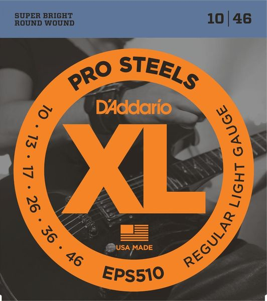 D'Addario EPS510 Pro Steels Regular Light Gauge (10-46)