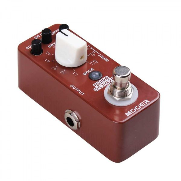 MOOER Pure Octave Octaver pedaali