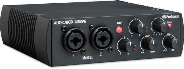 PreSonus Audiobox USB 96 25th anniversary edition interface