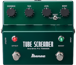 Ibanez TS808DX Tube Screamer