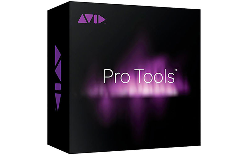 AVID Pro Tools Perpetual License NEW 1-year software download with updates  + support for a year (boxed)